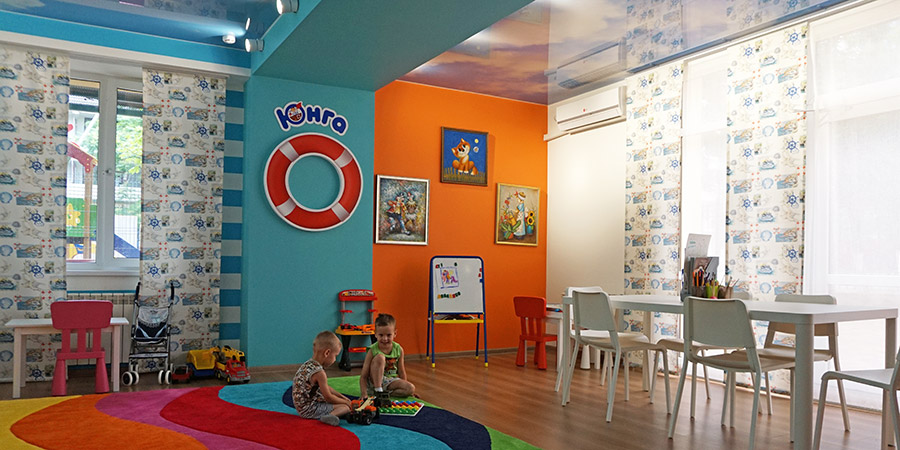 Детская комната Юнга в санатории Надежда Анапа