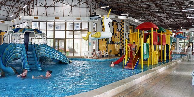 Детский аквапарк бассейн Осьминожка в Анапе