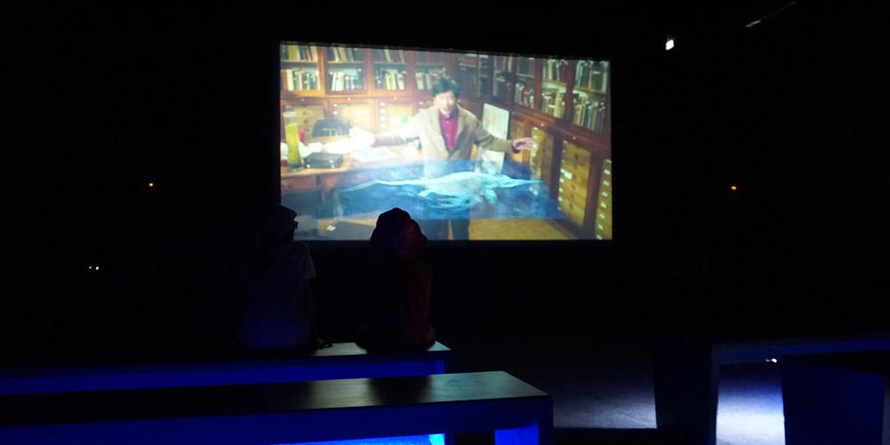 3D-кинотеатр фильм о зарождении жизни на Земле