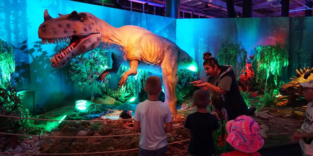 Экскурсия по парку динозавров мезозойская эра