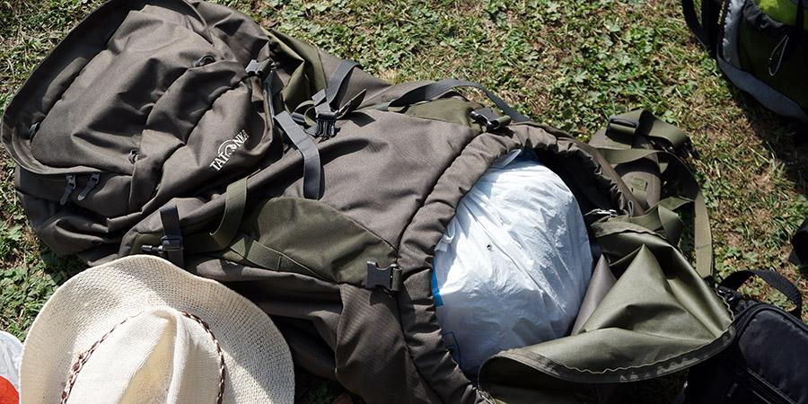 Нижнее отделение для доступа к рюкзаку