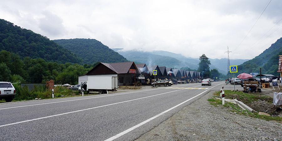 Посёлок Нижний Архыз