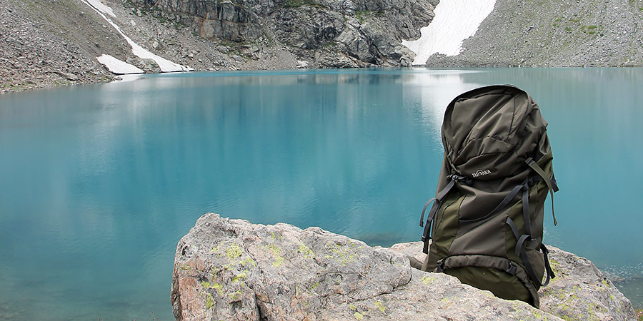 Рюкзак Татонка Jasper на Софийских озерах