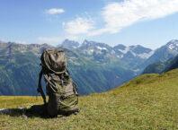 Рюкзак Tatonka Jasper на перевале Софийское седло Архыз