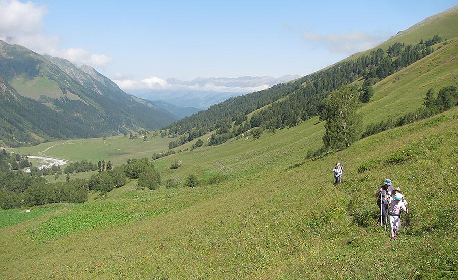 Тренировочный поход на перевал Софийское седло