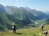 Вид на Софийскую долину с хребта Чагет-Чат