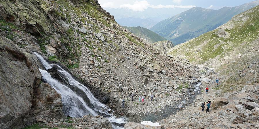 Водопад ручей Кашха-Эчкичат