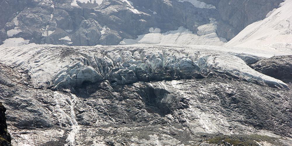 Ледники на горе Софии