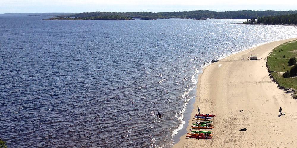 Песчаные пляжи острова Койонсаари
