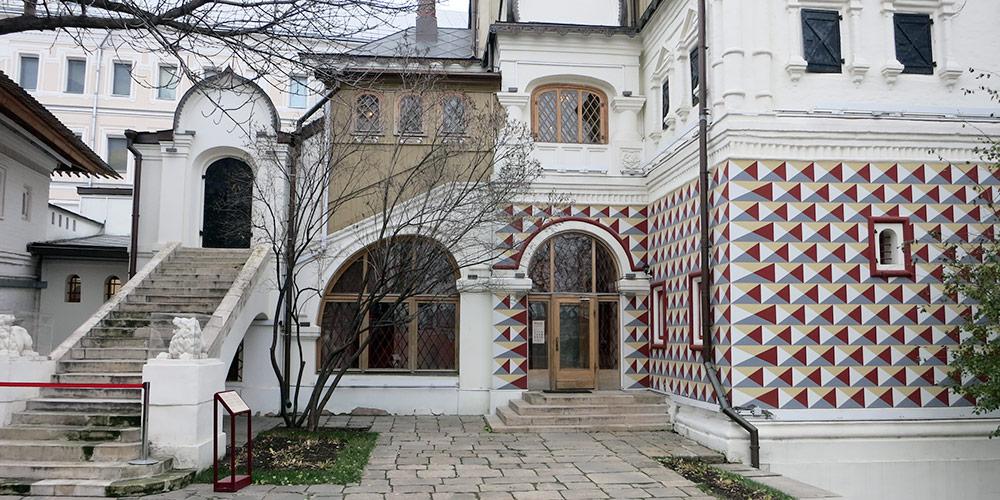 Палаты бояр Романовых в Зарядье