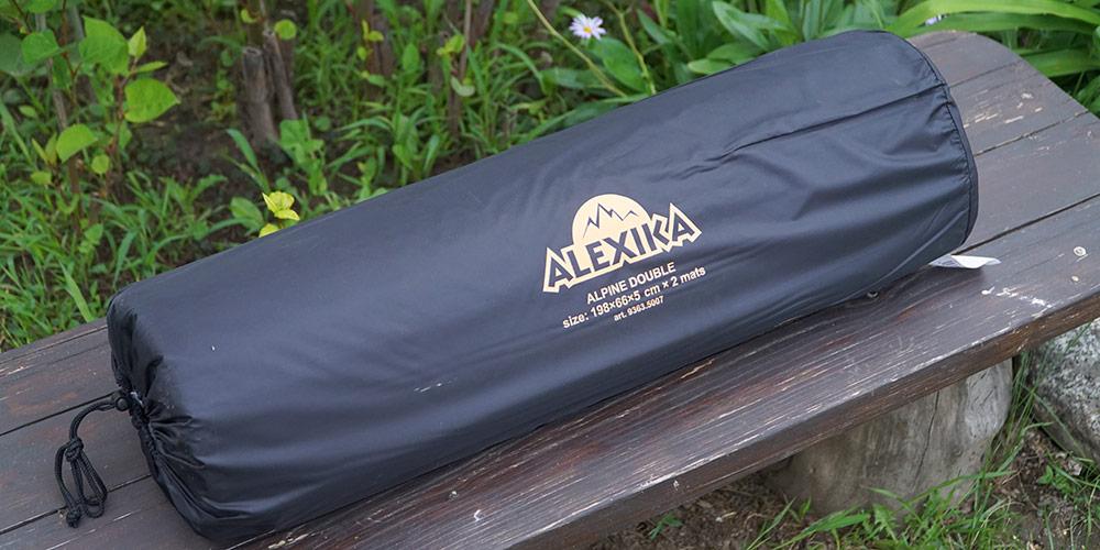 Большой походный коврик Alexika Alpine Double в чехле