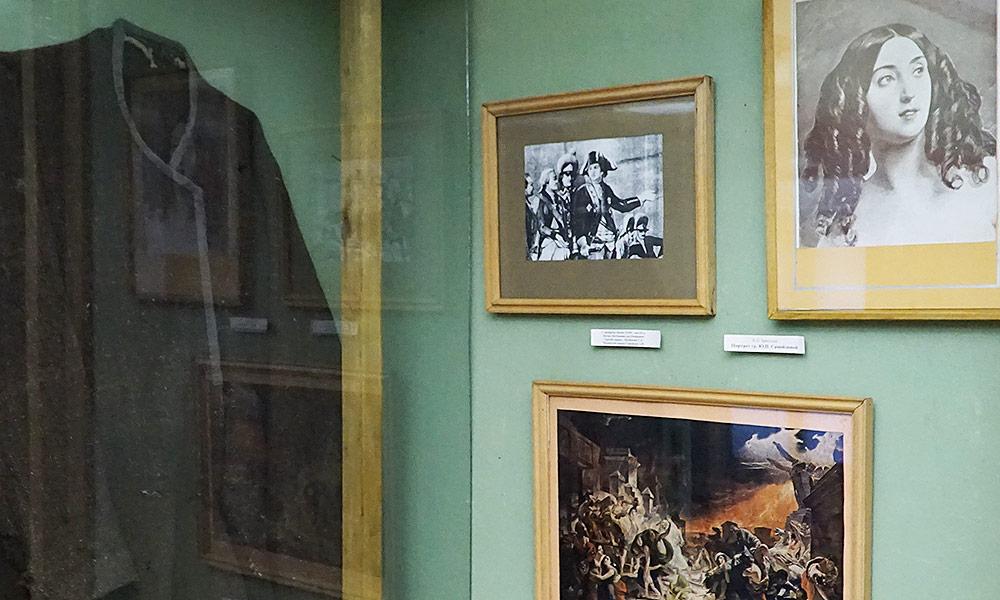 Графиня Юлия Самойлова на картине Карла Брюллова Последний день Помпеи