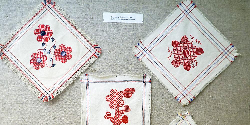 Орловский спис вышивка