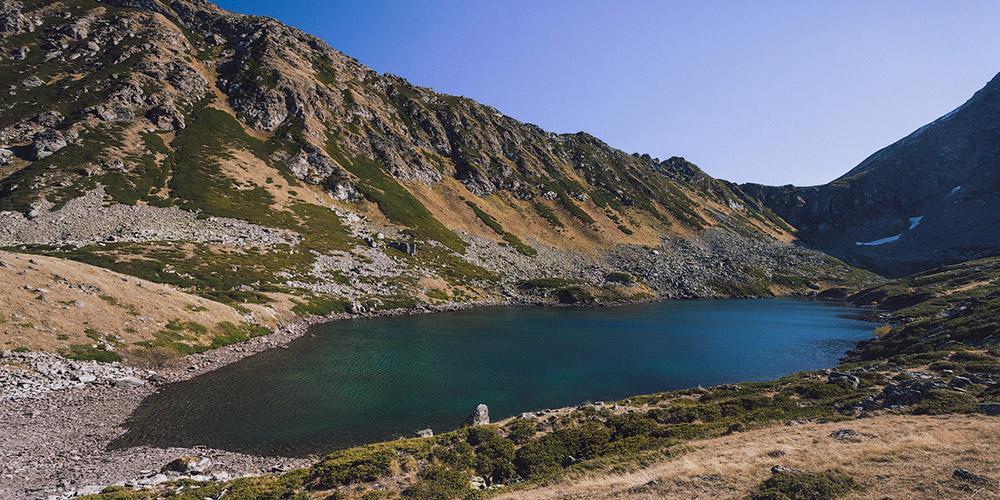 Озеро Сказка Кавказа долина Малой Дукки в Архызе