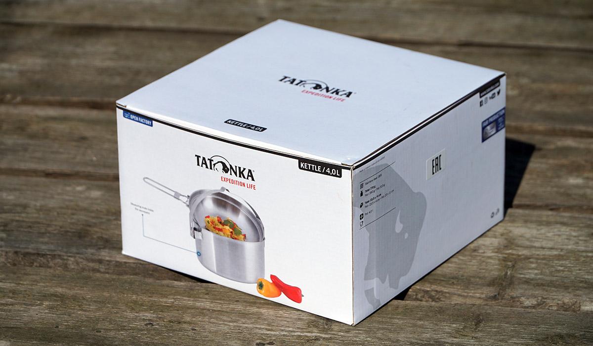 Набор посуды Tatonka Kettle 4 в подарочной упаковке