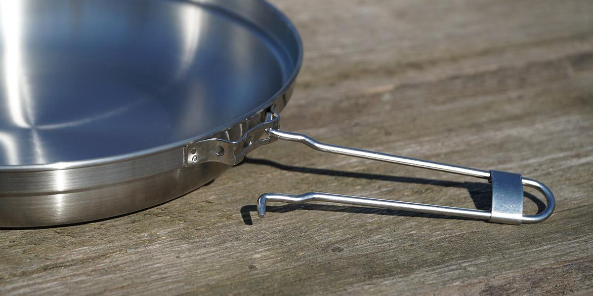 Съемная ручка для крышки сковороды