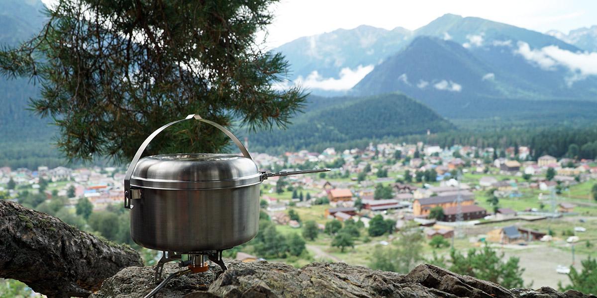 Набор посуды Tatonka Kettle 4 литра