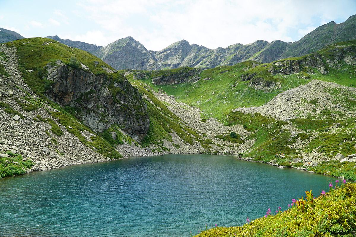Озеро Рыбка Дуккинские озера Архыз