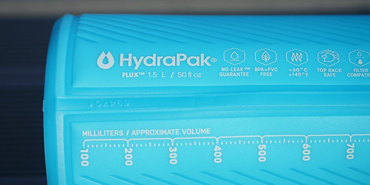 Гибкая бутылка для воды HydraPak Flux 1.5 L