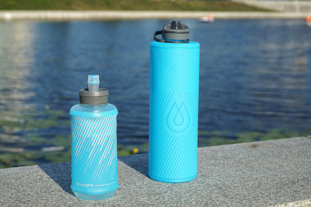 Гибкие бутылки для воды HydraPak Flux и SoftFlask