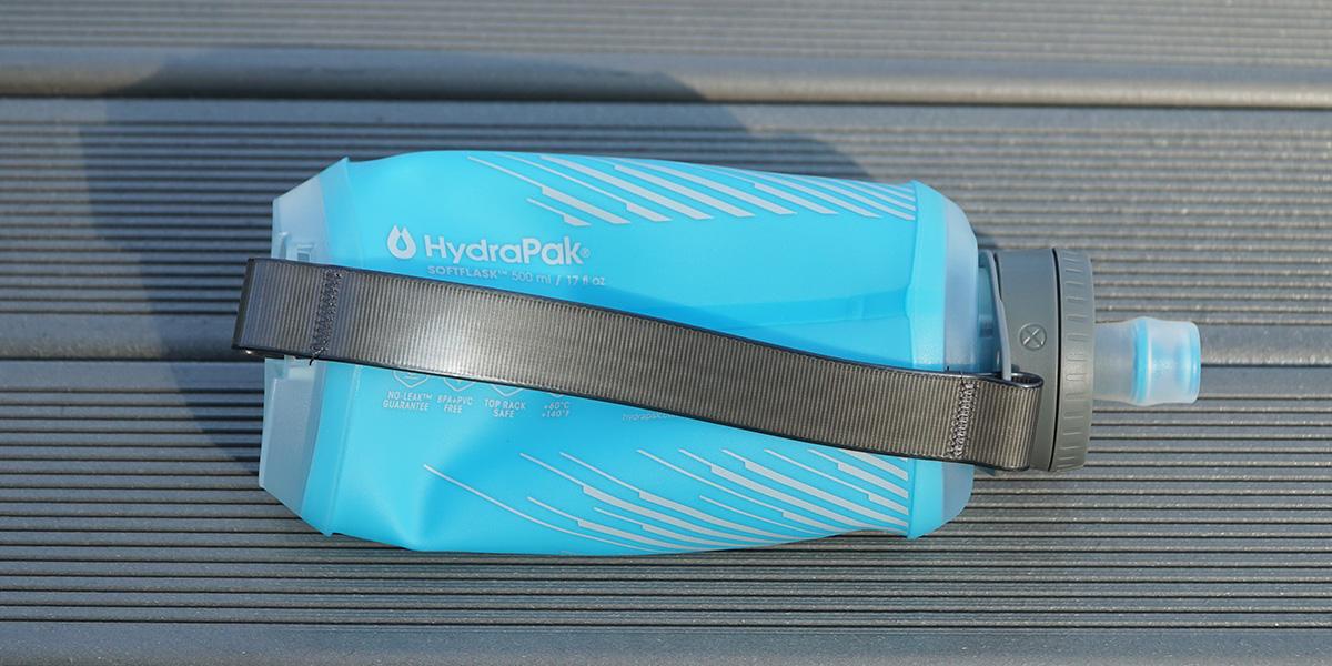 Гибкая бутылка для воды HydraPak Softflask 500 ml