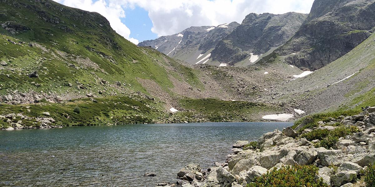 Озеро Семицветное Архыз