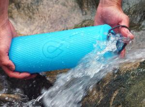 Бутылка для воды HydraPak Flux 1.5 литра