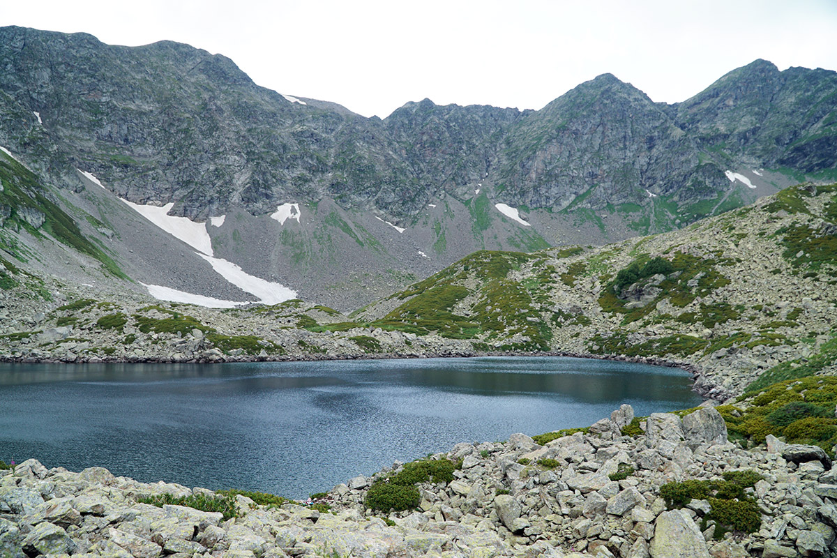 Озеро Аркасарское долина Малой Дукки Архыз