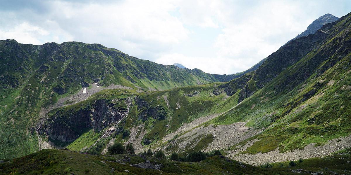 Долина Малой Дукки в Архызе