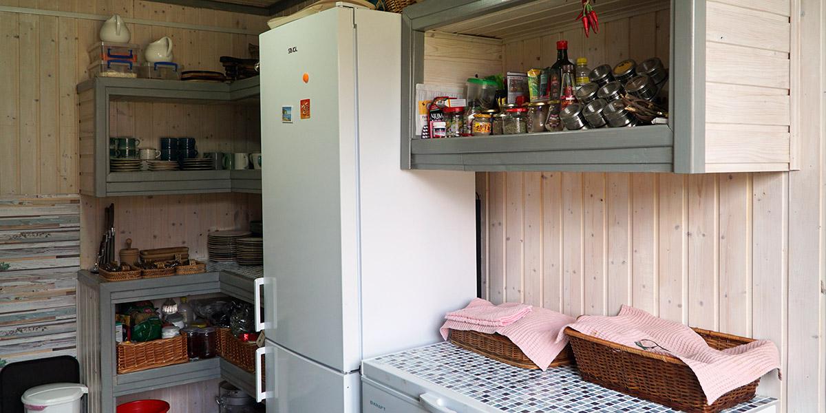 Общая зона для приготовления еды